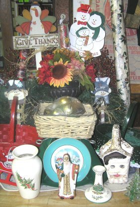 Large Group Of Christmas & Holiday Decorations