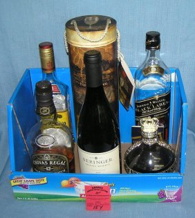 Box Lot Of Alcohol