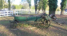 Antique Horse Drawn Cultivating Farm Cart