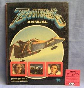 Vintage Terrorhawks Science Fiction Book