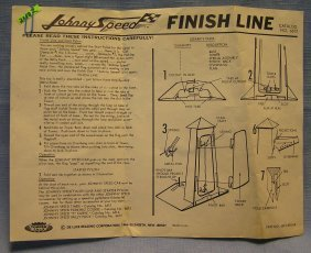 Johnny Express Speed Finish Line Brochure