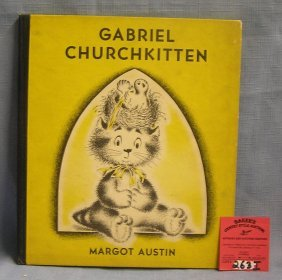 Gabriel Churchkitten Vintage Children's Book