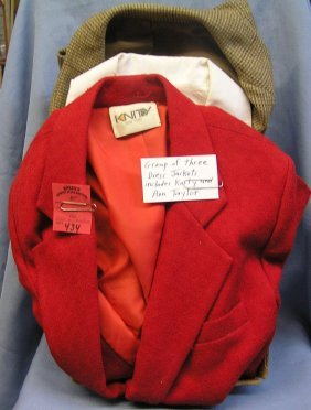 Vintage Dress Jackets Includes Knity And Anne Taylor