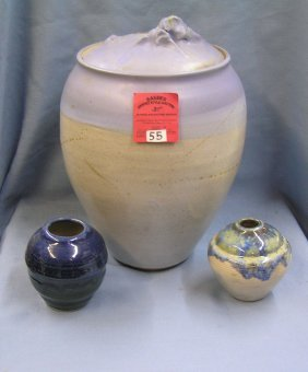 Group Of Artist Signed Art Pottery