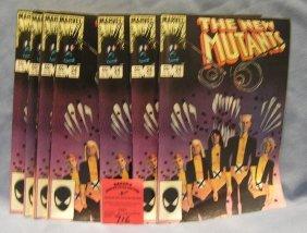 Marvel New Mutant Comic Books