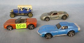 Group Of Cast Metal Collectible Cars