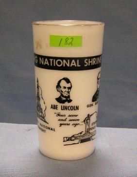 Souvenir Cup Of The Gettysburg National Shrine