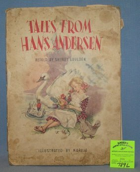 Tales From Hans Anderson Fairy Tale Story Book