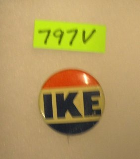 Vintage Eisenhower Campaign Button