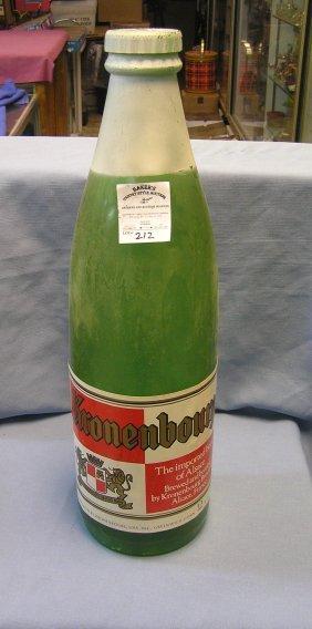 Vintage Beer Store Display Beer Bottle