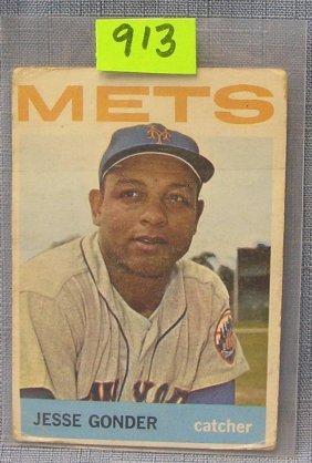 Vintage Jesse Gonder Baseball Card