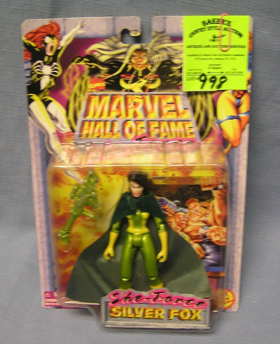Marvel's Silver Fox action figure mint on card