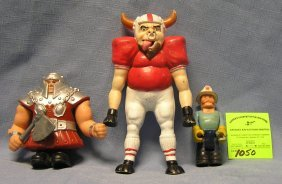 Group Of Three Vintage Action Figures