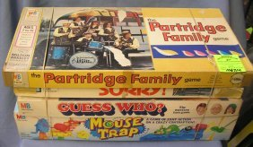 Group Of 4 Vintage Board Games