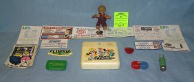 Collection Of Vintage Refrigerator Magnets