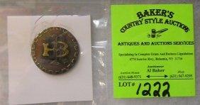 Antique Brotherhood Rail Road Badge