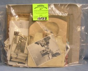 Large Group Of Antique And Vintage Photos