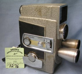 Vintage Revere I-matic Movie Camera