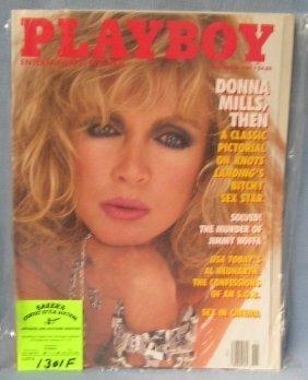 Playboy Magazine Featuring Donna Mills