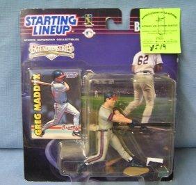 Vintage Greg Maddox Baseball Action Figure