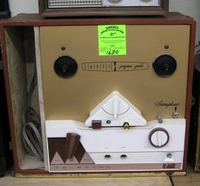 Vintage Telectro Stereophonic Reel To Reel Recorder