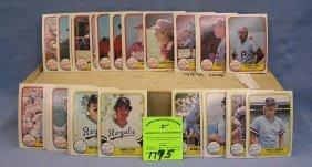 1981 Fleer Baseball Card Set