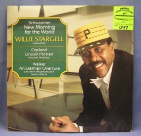Vintage Willie Stargell Record Album