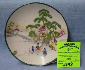Early Japanese Hand Painted Nippon Plate