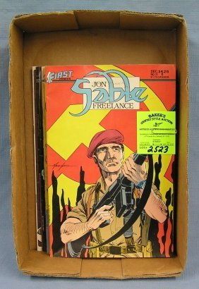 Collection Of Vintage Sable Comic Books