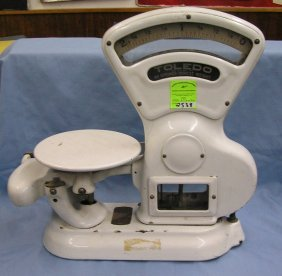 Large Antique Detecto Country Store Scale