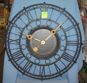 Large Vintage Style Wall Clock