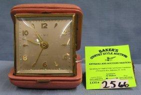 Vintage Amc Travel Alarm Clock