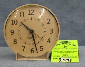 Vintage West Clock Alarm Clock