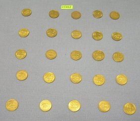 Group Of Vintage Tokens