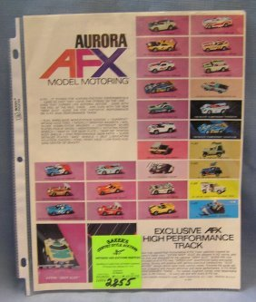 Vintage Aurora Model Motoring Ho Slot Cars 1 Lot 2