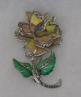 Antique Floral Brooch
