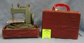 Betsy Ross Child's Sewing Machine W/orig. Box