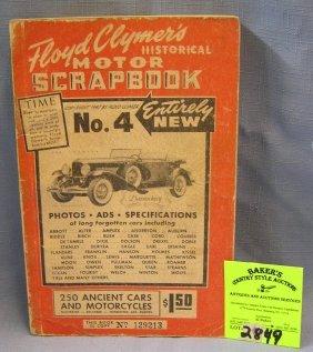 Floyd Clymers Historical Motor Scrap Book