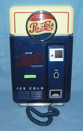 Pepsi Cola Advertising Working Telephone