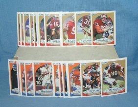 1990 Fleer Football Card Set