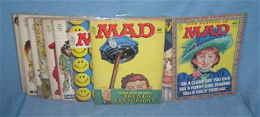 Collection of vintage Mad Magazines
