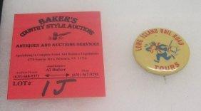 Early Long Island Rail Road Tours Badge