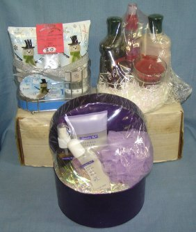 Group Of Three Gift Baskets