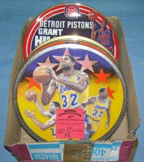 Basketball Super Star Collector Plates