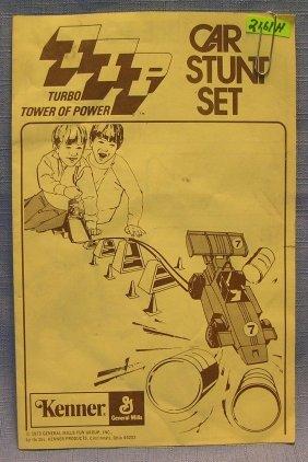 Vintage Kenner Toys Car Stunt Booklet
