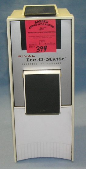 Vintage Rival Ice-o-matic Electric Ice Crusher