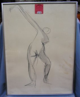 Original Semi Nude Artwork
