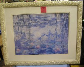 Quality Water Color Matted And Framed