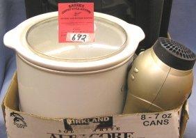 Crock Pot And Blow Dryer