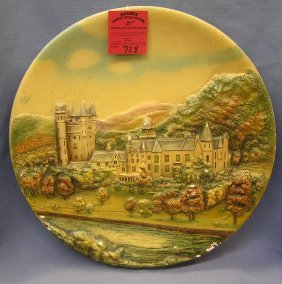 Hand Painted Wall Plaque Made In England